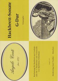 Conti: Hackbrett - Sonate G-Dur (Bearbeitung fur Hackbrett un Cembalo oder fur 2 Hackbretter und Violoncello con Karl-Heinz Schickhaus)
