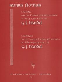 Flothuis: Cadenza for Handel Concerto in Bb