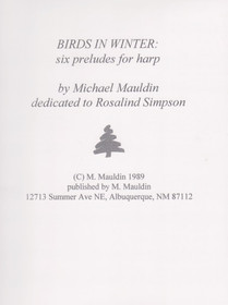 Mauldin, Birds in Winter