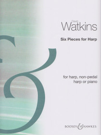 Watkins: Six Pieces for Harp