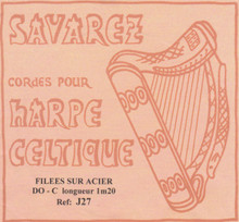 Savarez Celtic Harp Wire 5th Oct C (Aziliz J27 )