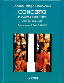 Boieldieu: Concerto for Harp and Orchestra (Harp Part)