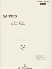Debussy: Danses (Set of Parts)