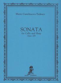 Castelnuovo-Tedesco: Sonata for Cello & Harp