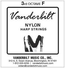 Vanderbilt Nylon, 3rd Octave F (Black)