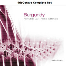 Burgundy, 4th Octave Complete