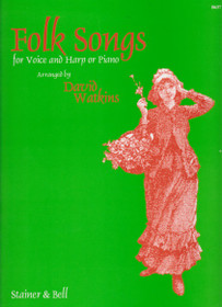 Watkins: Folk Songs for Voice and Harp-On Sale!
