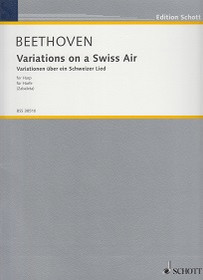 Beethoven/Zabaleta: Variations on a Swiss Air