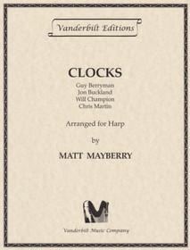 Berryman/Mayberry: Clocks (Pedal Harp)