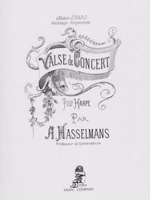 Hasselmans: Valse de Concert