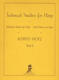 Holy: Technical Studies for Harp, Vol. 1