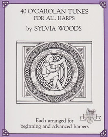 Woods: 40 O'Carolan Tunes for All Harps