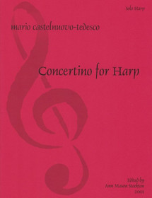 Castelnuovo-Tedesco: Concertino (Harp Part)