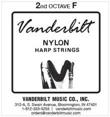 Vanderbilt Nylon, 2nd Octave F (Black)