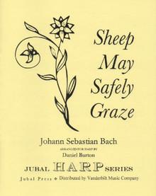 Bach/Burton: Sheep May Safely Graze (solo harp)