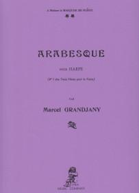 Grandjany: Arabesque for solo Harp