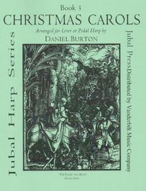 Burton: Christmas Carols for Lever or Pedal Harp, Book 3