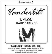Vanderbilt Nylon, 4th Octave C (Red)