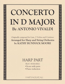 Vivaldi/Moore: Concerto in D Major (Harp Part)