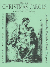 Burton: Christmas Carols for Lever or Pedal Harp, Book 2