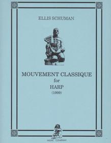 Mouvement Classique for Harp, Ellis Schuman