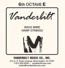 Vanderbilt Standard Bass Wire 6th octave E