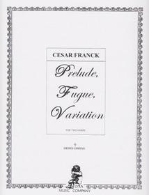 Franck/Owens: Prelude, Fugue, Variation for Two Harps