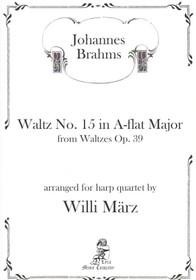 Waltz No. 15 in A-flat Major, Johannes Brahms