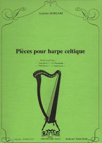 Borsari: Pieces pour harpe celtique ***Some Wear***
