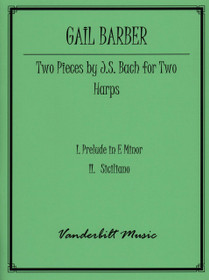 Bach/Barber: Two Pieces - Preludes in E minor & Siciliano (2 harps)