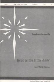 Here is the little door, Herbert Howells
