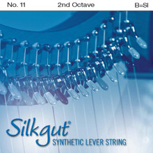 Silkgut Synthetic Lever String, 2nd Octave B