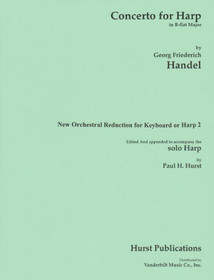 Handel/Hurst, Concerto in B-flat (Harp/Piano Reduction)