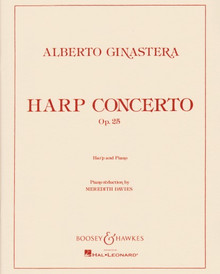 Ginastera, Alberto: Harp Concerto Op. 25 (Harp with Piano Reduction)