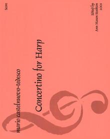 Castelnuovo-Tedesco: Concertino (Score)