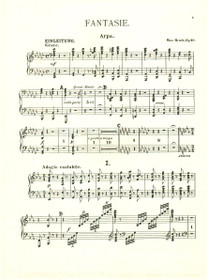Bruch: Fantasie, Op. 46 (Harp Part)