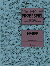 Konhauser.Starck: Test Pieces for Orchestral Auditions