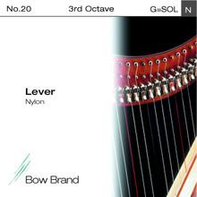 Lever Nylon String, 3rd Octave G