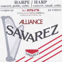 Savarez Alliance KF Composite String - HPK47 Red