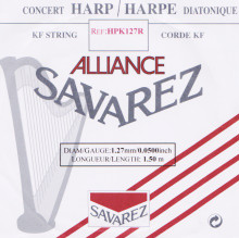 Savarez Alliance KF Composite String - HPK127 Red
