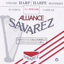 Savarez Alliance KF Composite String - HPK136 Red