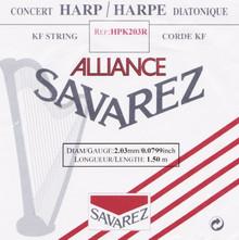 Savarez Alliance KF Composite String - HPK203R Red