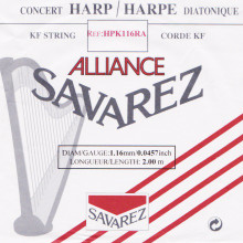 Savarez Alliance KF Composite String - HPK116RA Red (2 meter)