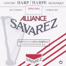 Savarez Alliance KF Composite String - HPK125RA Red (2 meter)