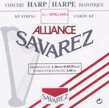Savarez Alliance KF Composite String - HPK136RA Red (2 meter)