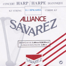 Savarez Alliance KF Composite String - HPK160BA Black (2 meter)