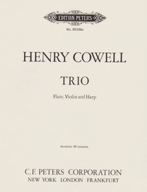 Henry Cowell - Trio for Flute, Violin and Harp
