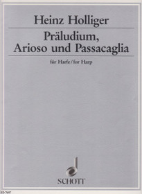 Holliger: Praeludium, Arioso & Passacaglia for Harp