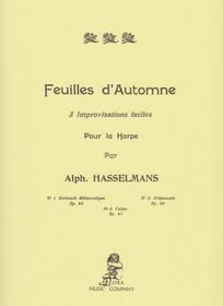 Hasselmans: Feuilles d'Automne 3 Improvisations faciles Pour la Harpe