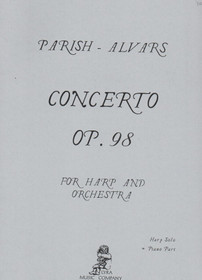 Parish Alvars: Concerto For Harp and Orchestra Op 98